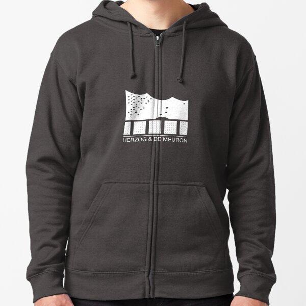 Herzog & de Meuron Logo - Elbphilharmonie Zipped Hoodie