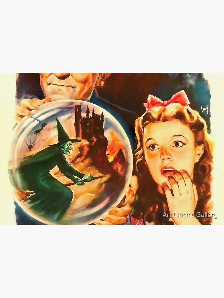 Italienisch Poster von The Wizard of Oz von artcinemagaller