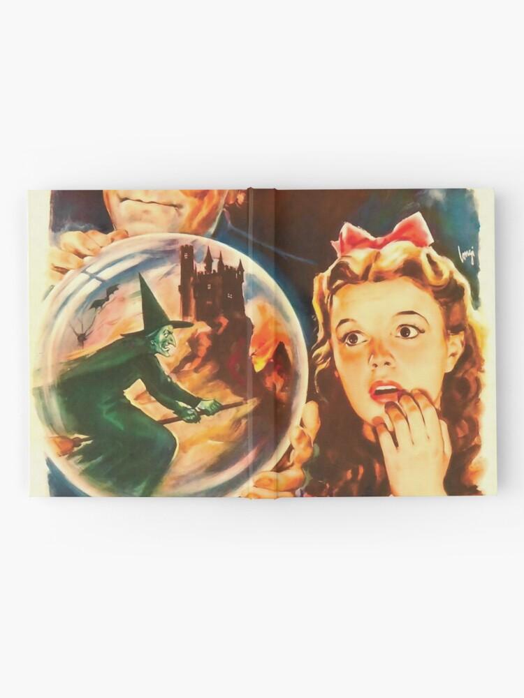 Alternative Ansicht von Italienisch Poster von The Wizard of Oz Notizbuch