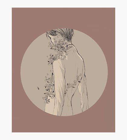 YOI: Yuri - Flowers Photographic Print