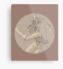 YOI: Victor - flowers Metal Print