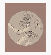 YOI: Victor - flowers Photographic Print