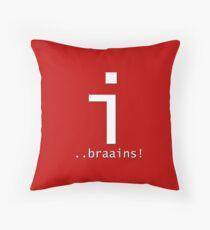 Letter i = Zombie Throw Pillow