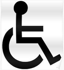 Disabled Symbol Poster