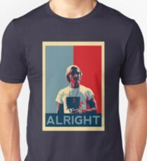 Wooderson (dazed & confused movie quote) - Alright Alright Alright Unisex T-Shirt