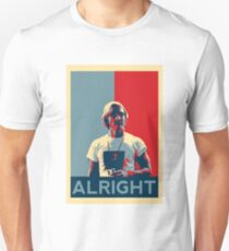 Wooderson (dazed & confused movie quote) - Alright Alright Alright T-Shirt