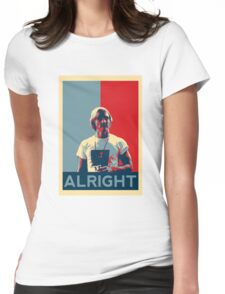 Wooderson (dazed & confused movie quote) - Alright Alright Alright Womens Fitted T-Shirt