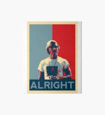 Wooderson (dazed & confused movie quote) - Alright Alright Alright Art Board