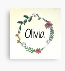 Personalised Names Metal Print