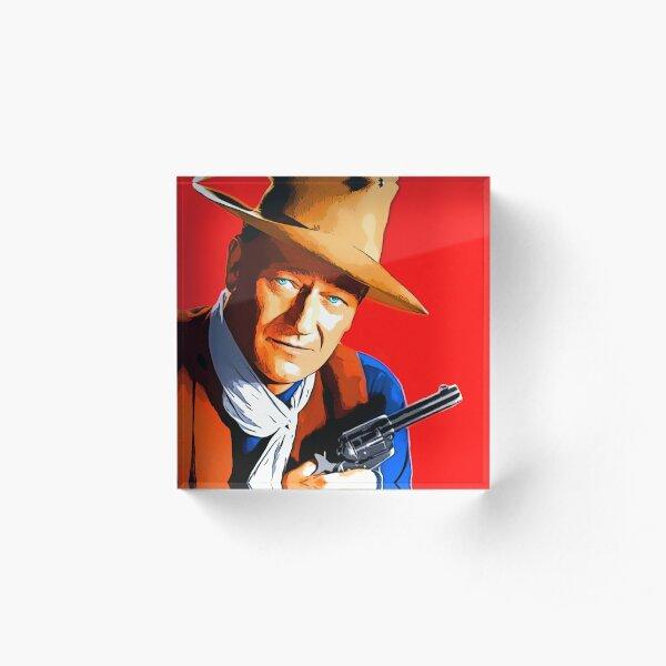 John Wayne in Rio Bravo Acrylic Block