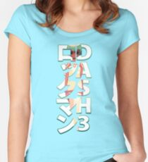 SERA BLOCK - RockMan Dash 3 - MML3 - V2 Women's Fitted Scoop T-Shirt