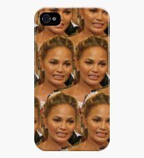 chrissy teigen awkward crying iPhone 4s/4 Case