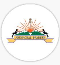 Arunachal Pradesh, अरुणाचल प्रदेश Sticker
