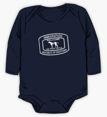 Republic of Newtown - 2014: White Long Sleeve Baby One-Piece