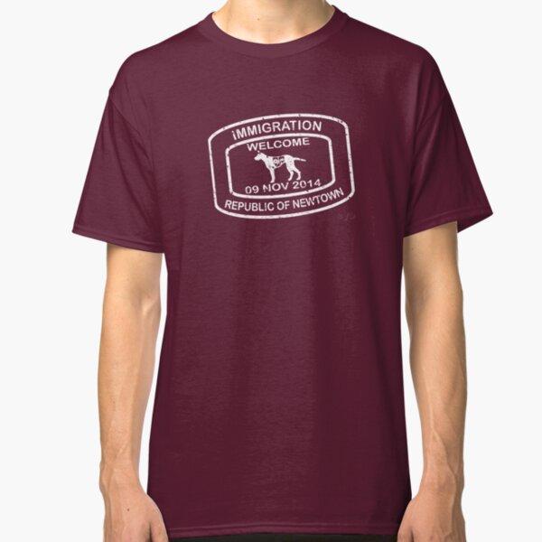 Republic of Newtown - 2014: White Classic T-Shirt