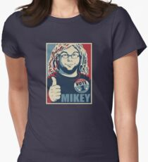 MIKEY For PRESIDENT Womens Fitted T-Shirt