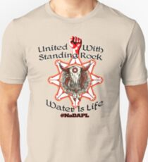 United With Standing Rock Sioux - Water is Life T-Shirt
