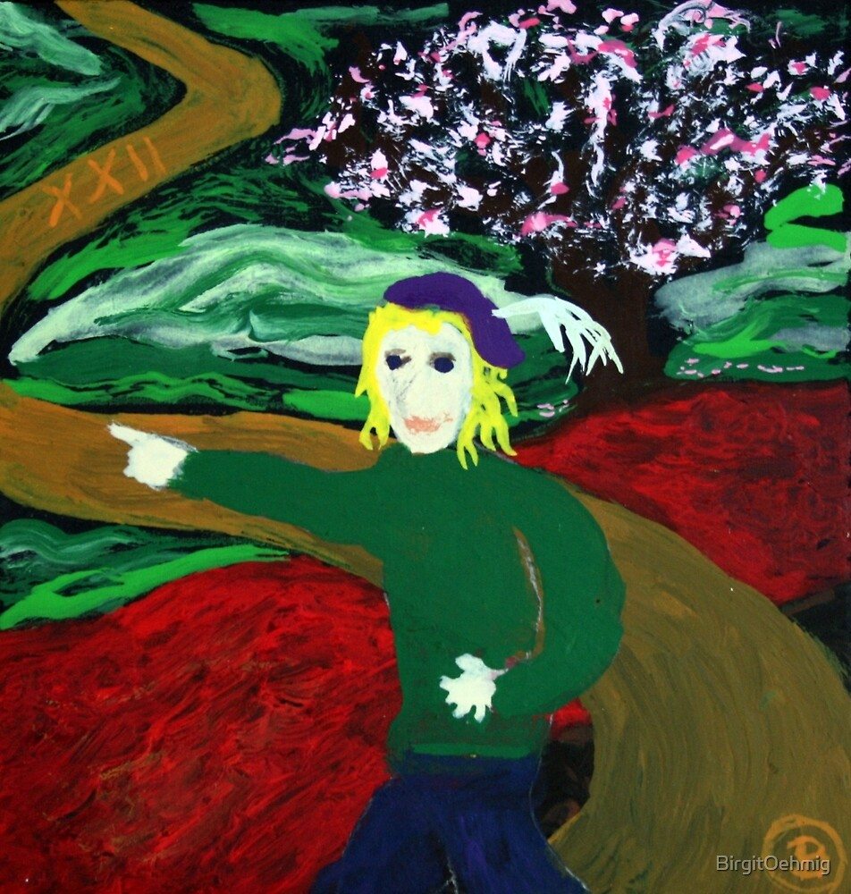 The Fool by Oehmig Birgit