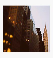 Bright Lights, Big City Photographic Print