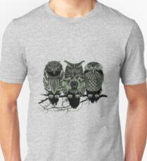 owl three owls T-Shirt