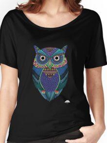cute owl art Women's Relaxed Fit T-Shirt
