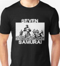 Seven Samurai - 7 Samurai  Unisex T-Shirt