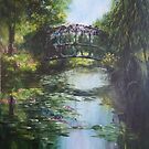 The Bridge at Giverny by lizzyforrester