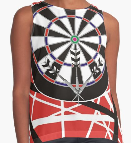 One Rockin' Darts Shirt Contrast Tank