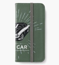 not a car iPhone Wallet/Case/Skin