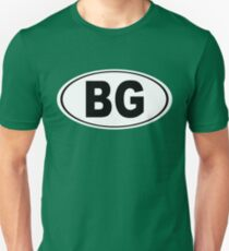 Bowling Green Kentucky Oval BG Unisex T-Shirt