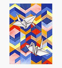 Origami Photographic Print