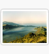 Tranquil traveling Sticker