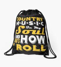 Countrymusik in meiner Seele und so rolle ich Rucksackbeutel