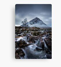 River Coupall Waterfalls, Glencoe Canvas Print