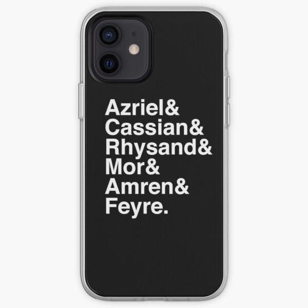 ACOMAF characters iPhone Soft Case