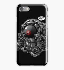 Astronaut Lost Signal in Space iPhone Case/Skin