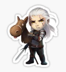 The Witcher-Mini Geralt of Rivia Sticker