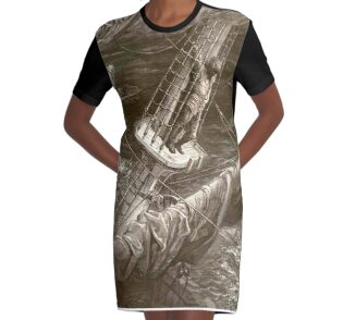 Ancient mariner cocktail dress