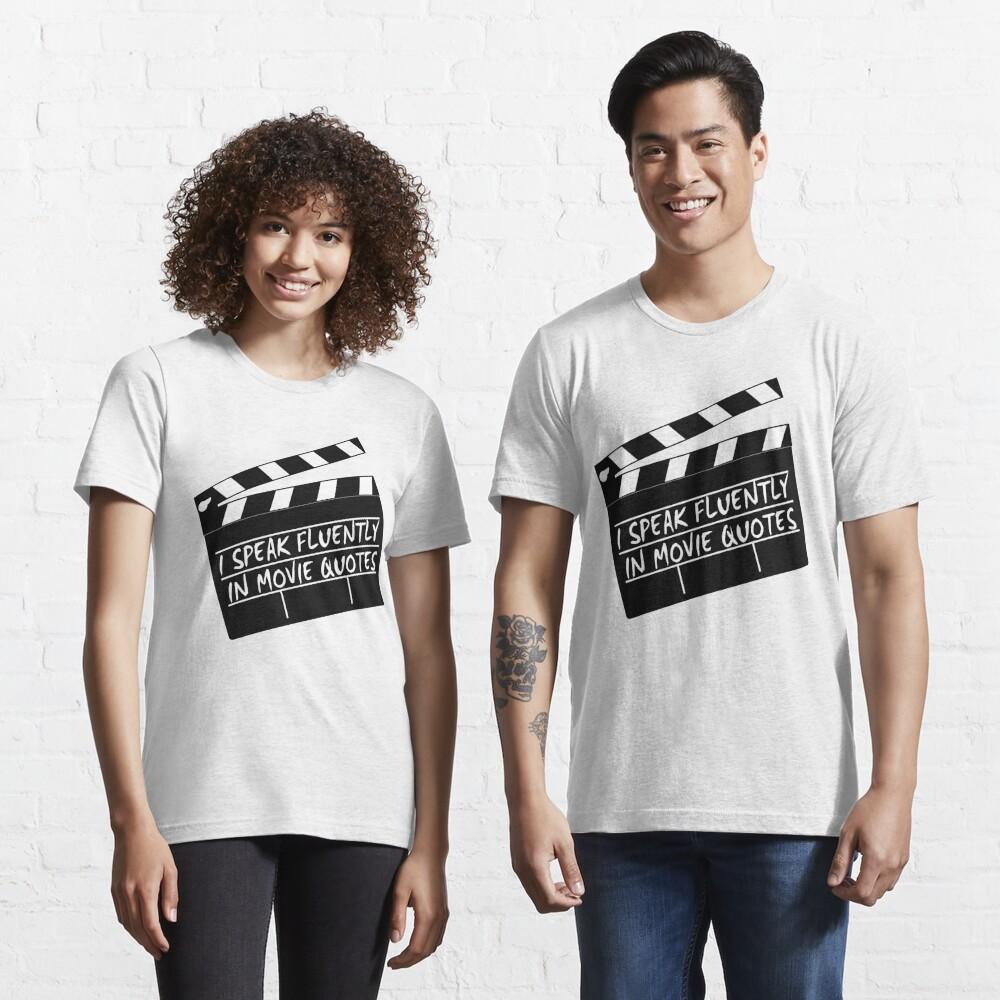 Hablo con fluidez en citas de películas Camiseta esencial
