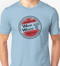 Westworld Retro Logo Round T-Shirt