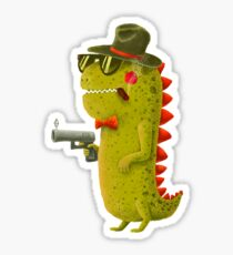 Dino bandito Sticker