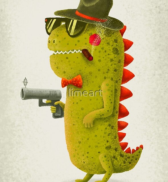 Dino bandito by limeart