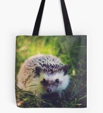 Hedgehog in the Grass Tote Bag