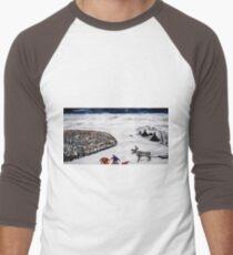 Kautokeino Men's Baseball ¾ T-Shirt