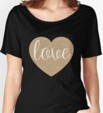 Valentine heart with love Women's Relaxed Fit T-Shirt