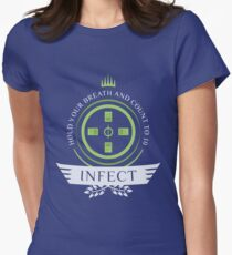 Magic the Gathering - Infect Life Womens Fitted T-Shirt
