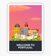 Travel to Portugal Sticker