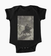 Don Quixote, Don Quijote, Gustave Doré, one of the 500 created for the work Kids Clothes