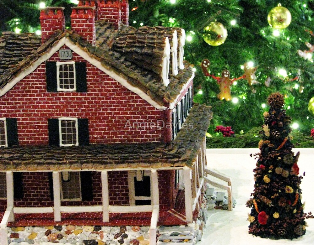 The Gingerbread Mansion Longwood Gardens Christmas 2011 by AngieDavies
