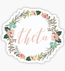 Theta Sticker
